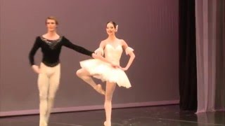 Hannah O'Neill and Jeremy-Loup Quer from the Paris Opera National B...