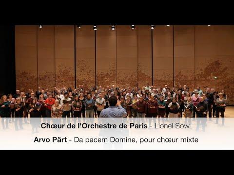 Arvo Pärt - Da pacem Domine - In tribute to the Paris attacks victims