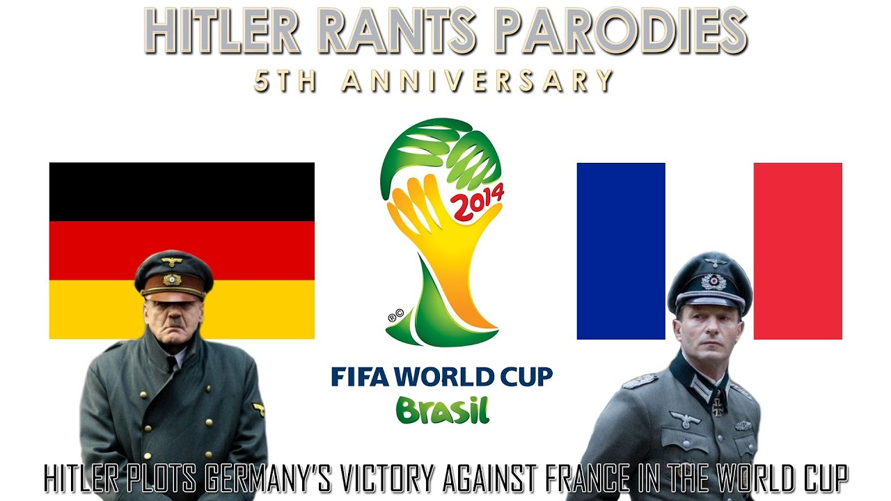 Hitler plots Germany's victory against France in the World Cup
