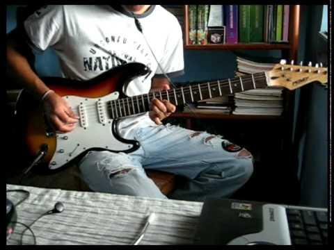 The kooks - sofa song ( cover 1ª guitar ) difreaky - Didí