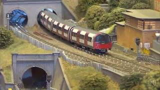 OO Scale London Underground Layout Abbey Road at Acton Open Day