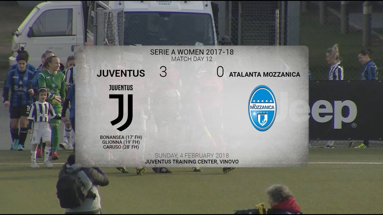 Highlights: Juventus Women - Atalanta Mozzanica