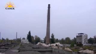 Кирпичная труба высотой 50 м г. Рубежное