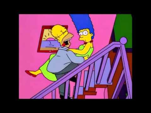 los simpsons Homero sexo salvaje