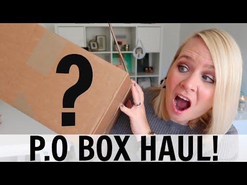 P.O BOX OPENING!