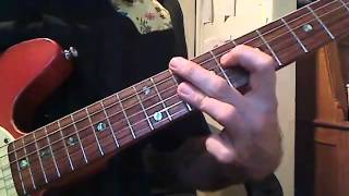Jump blues comping guitar lesson