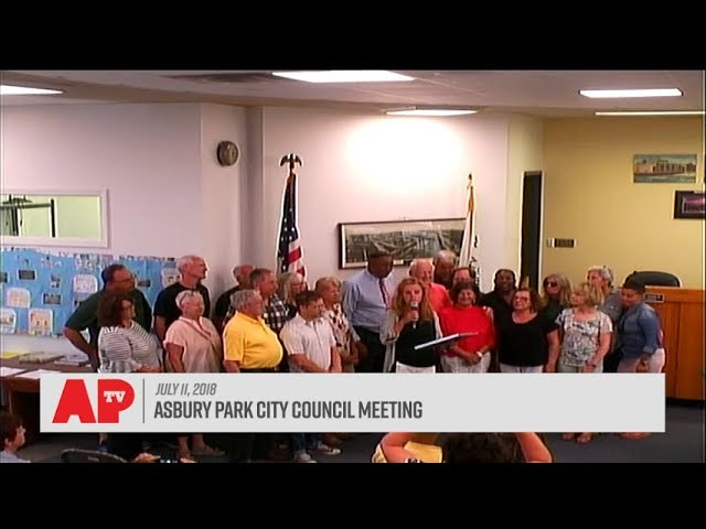 Asbury Park City Council Meeting - July 11, 2018