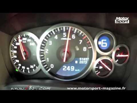 Nissan GT-R R35 Speed Test HD 2012
