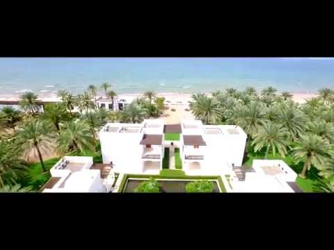 Resort Aerial | The Chedi Muscat | Oman | GHM hotels