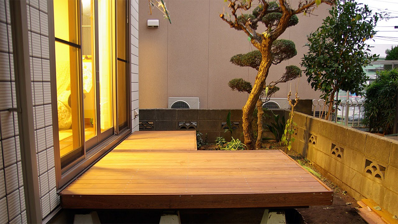 Attractive Make A Luxury Deck Terrace   DIY Home   Guidecentral