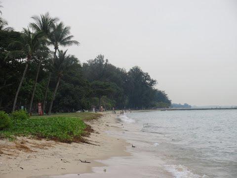 Singapore East Coast Park and Beach - TRAVEL VIDEO