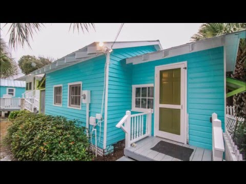 Old Love Cottage circa 1921 - Mermaid Cottages Vacation Rentals - Tybee Island GA
