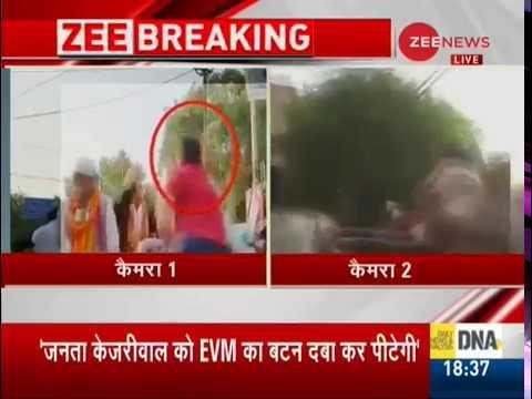 Man slaps, abuses Arvind Kejriwal during roadshow in Delhi