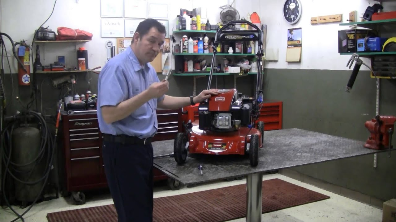 victa mowers how to know to replace spark plug