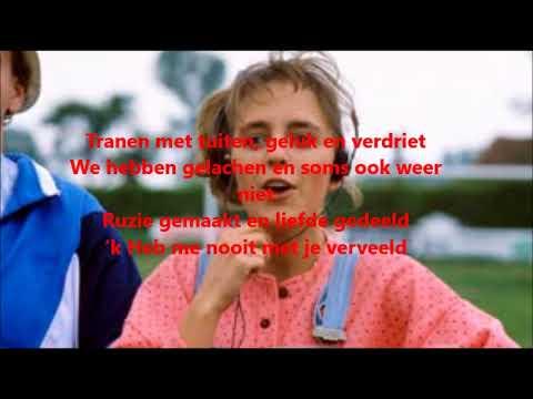 Niels Destadsbader tranen met tuiten lyrics
