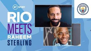 Rio, Raheem Sterling을 만나다 | 유로 우승, De Bruyne 및 Man City의 4 배 희망으로 연주