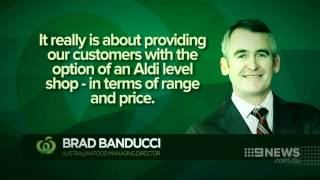 Aldi aiming to take down Australia's supermarket royalty by stocking shelves with fruit grown on lo