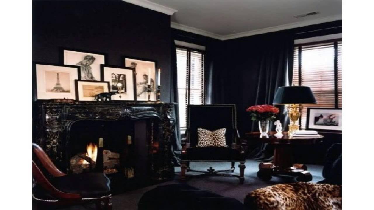 The Black Wall A Bold Statement In Interior Design