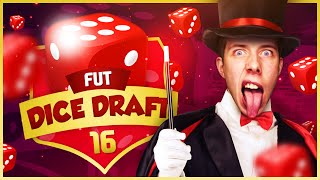 RANDOM DICE DRAFT! - FIFA 16 ULTIMATE TEAM