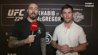 Dan Hardy and Dominick Cruz break down UFC 229: Khabib vs McGregor