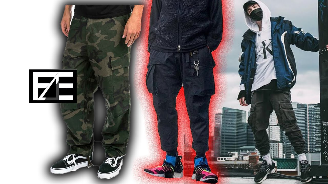 How to PROPERLY STYLE CARGO PANTS - YouTube
