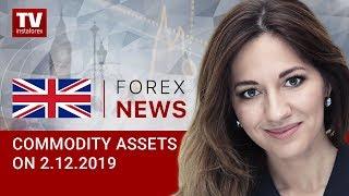 InstaForex tv news: 02.12.2019: RUB likely to fall to $65 (Brent, USD/RUB)