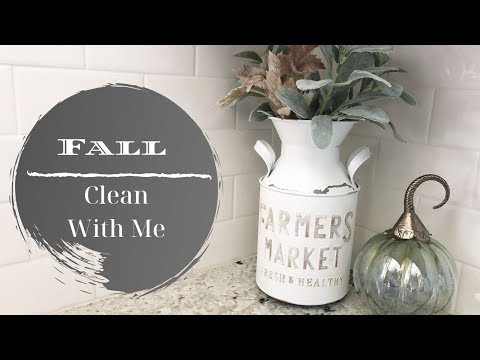 FALL CLEAN WITH ME 2019 | CLEANING MOTIVATION | FALL CLEAN AND DECORATE WITH ME