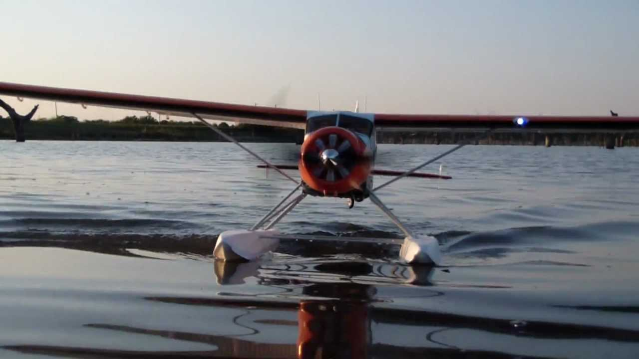 Flyzone Dhc 2 Beaver On Floats Youtube