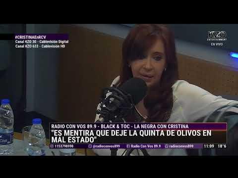 Cristina Fernandez de Kirchner con La Negra Vernaci - Entrevista Completa