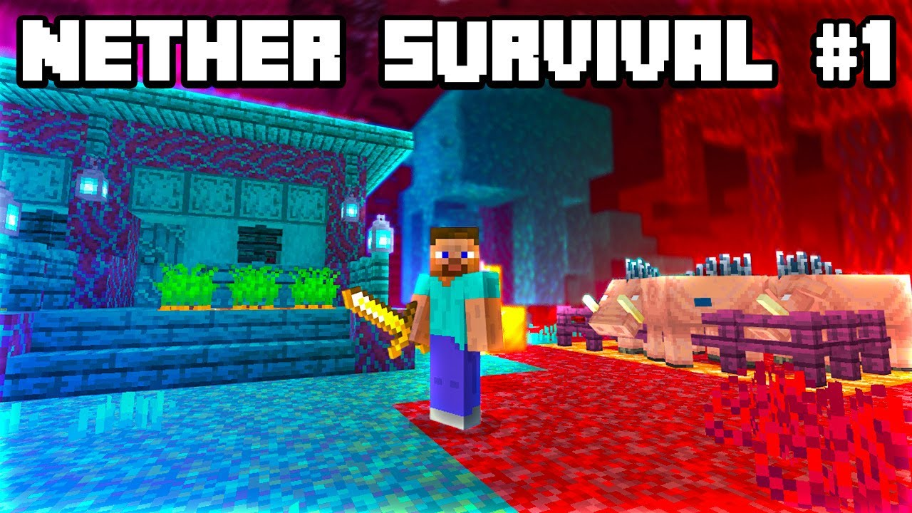 Download Minecraft But I Start In The NEW 1.16 Nether! (Nether Survival #1)