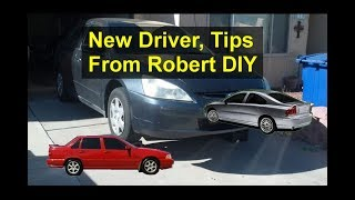 New drivers, tips from Robert DIY, how to stay safe and accident free. - VOTD