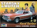 How to Build the Starsky and Hutch Ford Torino 1:25 Scale Revell Model Kit #85-4023 Review