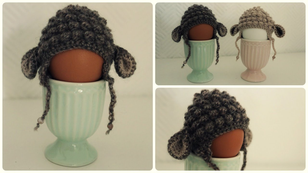 Eierwärmer Häkeln Diy Crochet Egg Cozy Eng Sub Youtube
