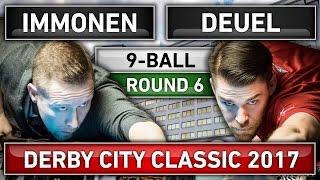 Mika Immonen v Corey Deuel ᴴᴰ 2017 Derby City Classic 9-ball Round 6