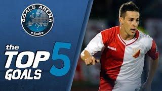 TOP 5 GOALS 8 kolo JSL 2014 15