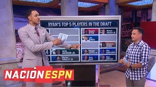 Luke Doncic, Deandre Ayton among Ryan Hollins' top 5 players in NBA draft | Nacion ESPN
