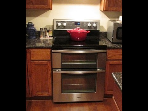 Whirlpool Model Wge555 Double Oven Review Youtube