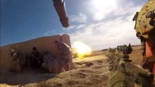 AT-4 Rocket Hits Taliban Ambush Position During Firefight