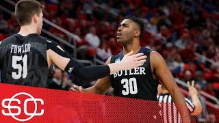 Butler upsets Arkansas 79-62, could pose a threat to Purdue in NCAA tournament | SportsCenter | ESPN