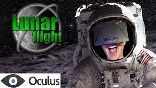 Lunar Flight with Official Oculus Rift Support!