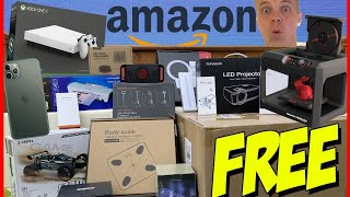 How To Get FREE STUFF On AMAZON 100 FREE PRODUCTS 2021