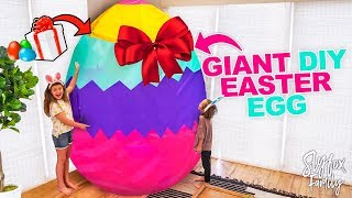Family Surprises Kids with HUGE Easter Egg Gifts **Easter Egg Hunt** | Slyfox Family