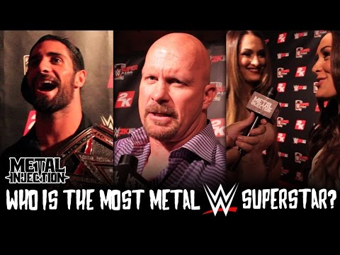WWE Superstars on Who Is The Most Metal in WWE? | Metal Injection