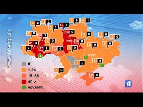 Новости 11 канал: Хворих на коронавірус в Україні – вже майже півтисячі