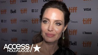Angelina Jolie On Why 'First They Killed My Father' Hits So Close To Home For Her Children
