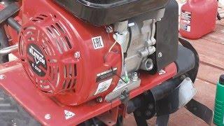 Культиватор ELITECH КБ 60Н - технічне обслуговування і заміна масла.
