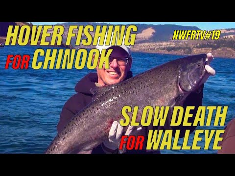 NWFRTV#19 | Columbia River Salmon & Walleye Tips And Techniques