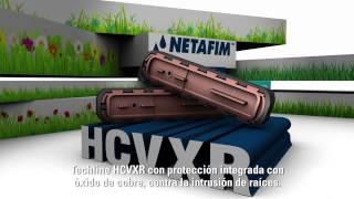 Netafim Techline HCVXR - Spanish
