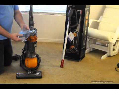 How To Assemble Dyson Dc25 Vacuum Cleaner How To Save