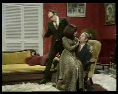 Morecambe & Wise with Fenella Fielding